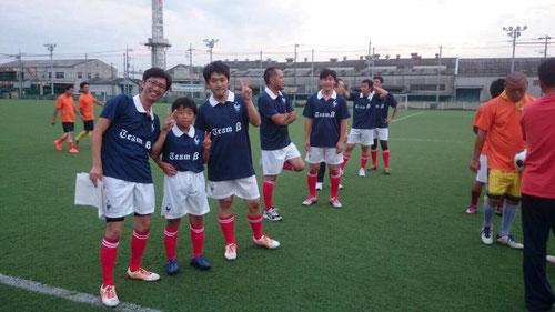 Team β様