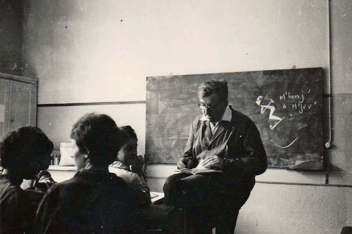 M. Verpilleux, professeur de philosophie - 1961