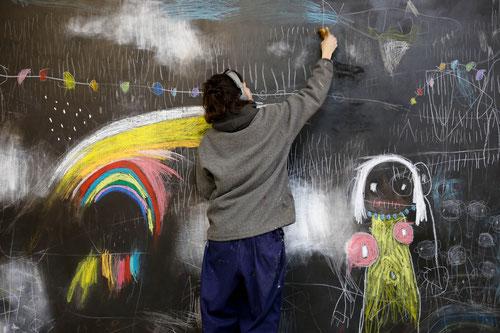 art, sandra partera, inner child