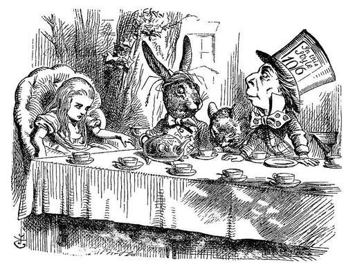 """© Sir John Tenniel aus """"Alice im Wunderland"""" von Lewis Carroll"""