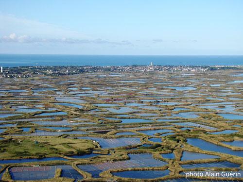 Marais salants de batz sur Mer