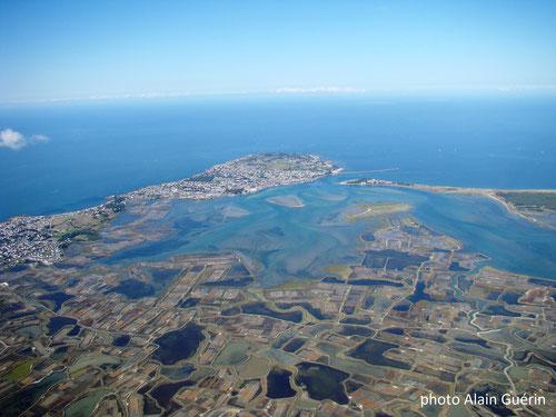 Marais salants et  Le Croisic