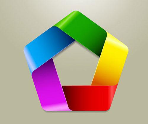 Векторный логотип в Adobe Illustrator