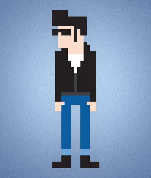 Пиксельная графика в Illustrator