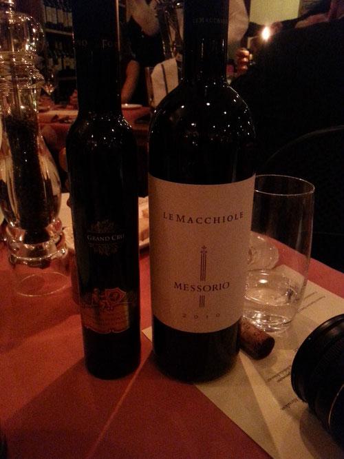 Le Macchiole - Messorio & Fonte di Foiano - Grand Cru