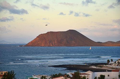 Insel Lobbos vor Corralejo