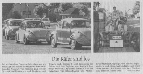 aus der MAZ Kyritz am 01.10.2013