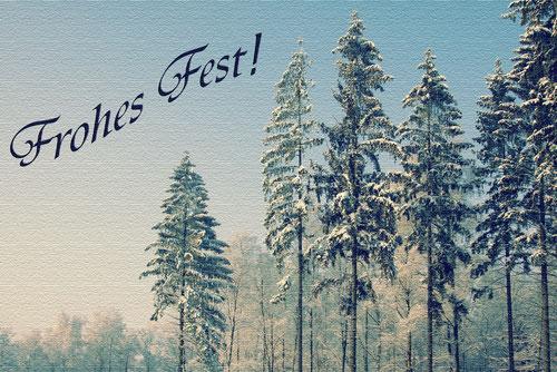 Bild: Frohe Weihnachten und ein gutes neues Jahr