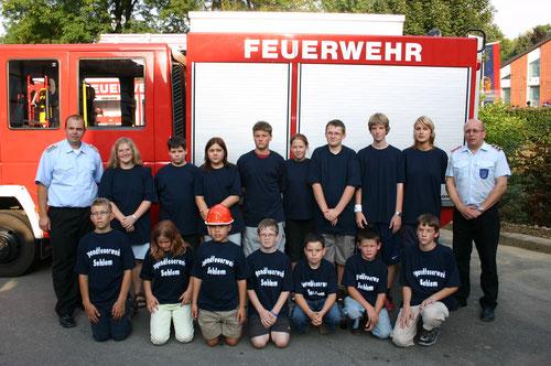 Gründung Jugendfeuerwehr 10.09.2005