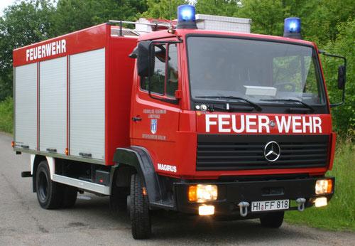 TLF 8/18  Mercedes Benz MB 814, 103 KW Bj. 1999