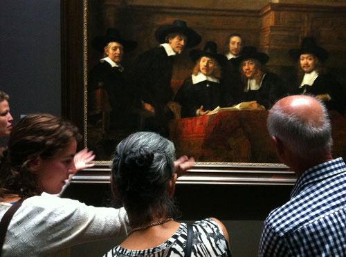 J.v.Troschke, Kunstbetrachtung im Rijksmuseum Amsterdam 2, 2013