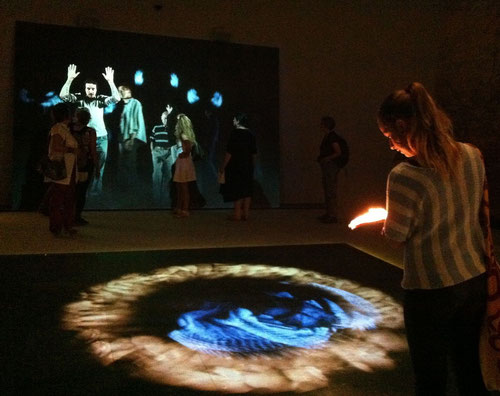 J.v.Troschke, Pavillion des Vatikan auf der Biennale Vendig 2013