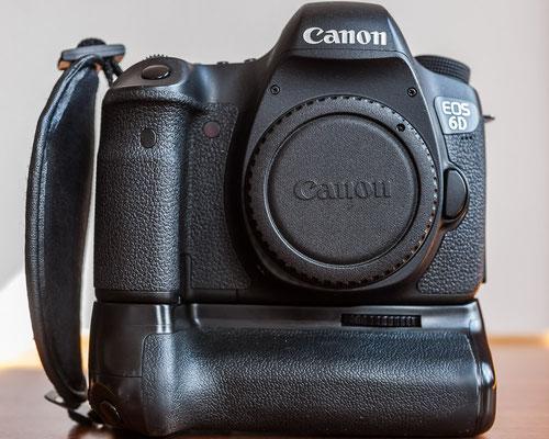 Canon EOS 6D Vollformat-Kamera inklusive Handgriff