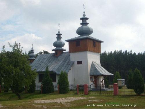 Cerkiew pod wezwaniem św. Michała Archanioła w Michałowie – prawosławna cerkiew parafialna. (fot. Lemko.pl)