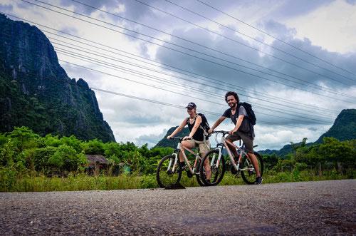 Mountainbike Vang Vieng