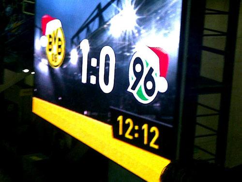 BVB vs. H96 - 12.12