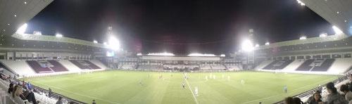 Schalke 04 vs Al-Saad kick-off