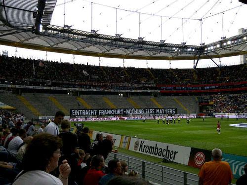 Eintracht Frankfurt vs. Bayer 04 LeverkusenEintracht Frankfurt fan corner