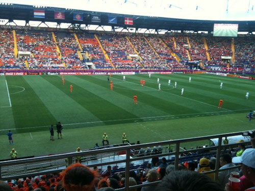 UEFA EURO 2012 Group stage Netherland vs. Denmark