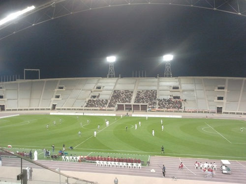 FCB vs. Lekhwiya kick-off