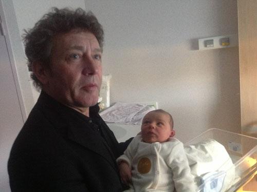 Eddy et Bixente né le 14 mars 2013