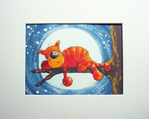 Schlummerland - dicker roter Katze im Mäusetraumland