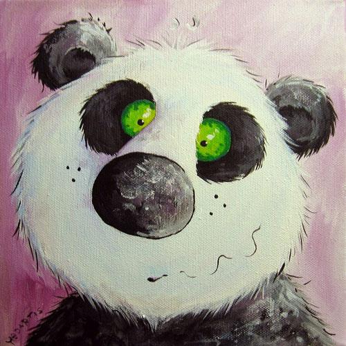 Panda Bärchen, Panda Bär mit Kulleraugen