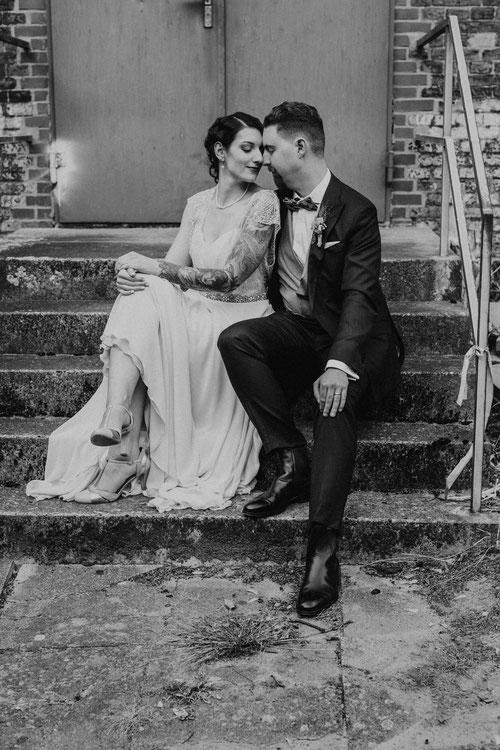urbane Hochzeitsfotografie Hamburg von Alina Atzler