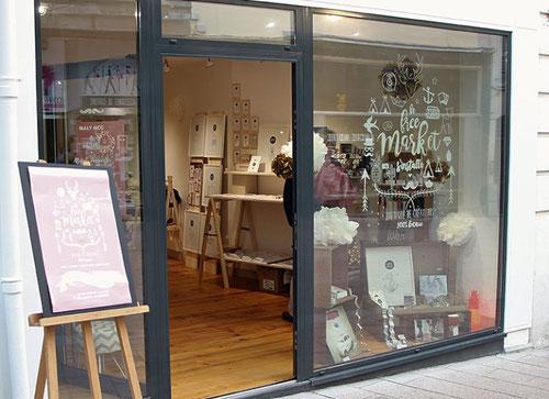 Le Free Market pop-up store Pau