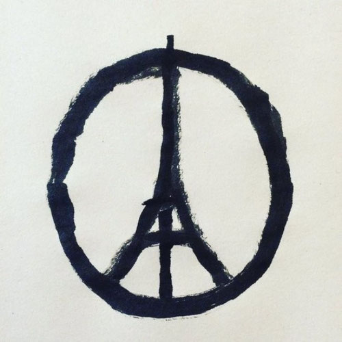 peace for paris dessin peace and love banksy jean jullien