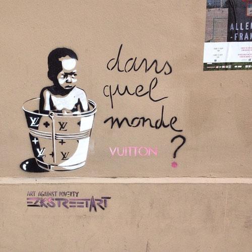 Dans quel monde Vuitton street-art