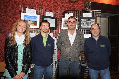 Marta Pavesio, Moreno Strazza, Gianni Pavesio e Francesco Varacalli