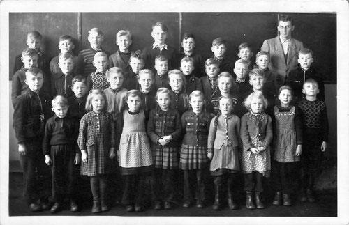 Klasse von Herrn Schwart ca. 1957