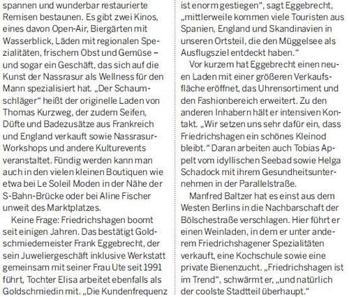 Berliner Morgenpost 13.08.2013