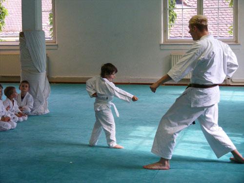 Koordination Karate