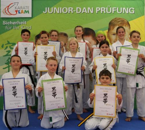 Kinder Selbstverteidigung und Karate