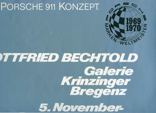 Gottfried Bechtold Katalog / Catalogue (Porsche 911 von 1971)