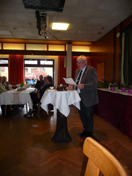 unser Bürgermeister Ernst Stolley
