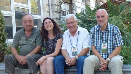 Mr X, Claire Auda DEU, Vladimir Iliev BUL, Rolf Leuenberger CHE