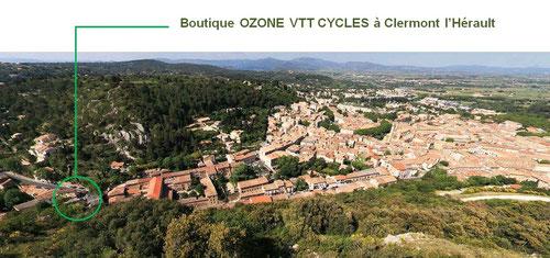 Ozone vtt cycles Salagou 34