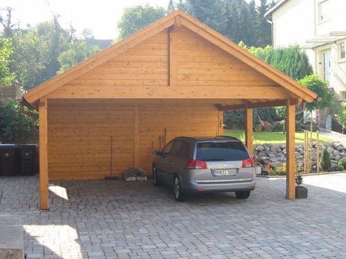 spitzdach carport. Black Bedroom Furniture Sets. Home Design Ideas