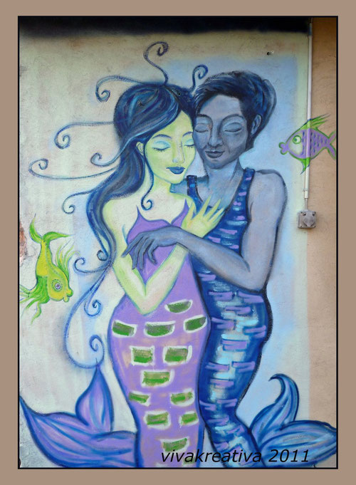WallArt: Mermaid and Aquarius