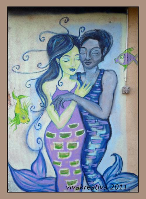 WallArt: Mermaid and Aquarius