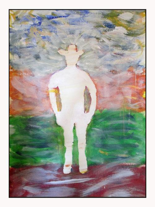 Die Vision des Selbst. Vielfältig deutbar...und doch eindeutig. Ein stolzes Werk!