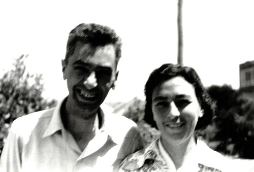 Bill and his first wife Joan