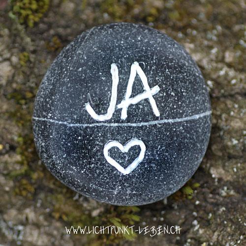 Ja-Stein, ja-zum-leben, ja-zu-sich-selbst, Symbolstein