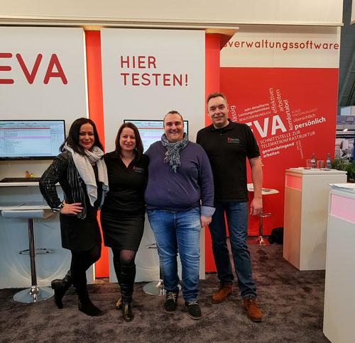 abasoft EVA Praxissoftware Arztsoftware Kunden Messe Medizin