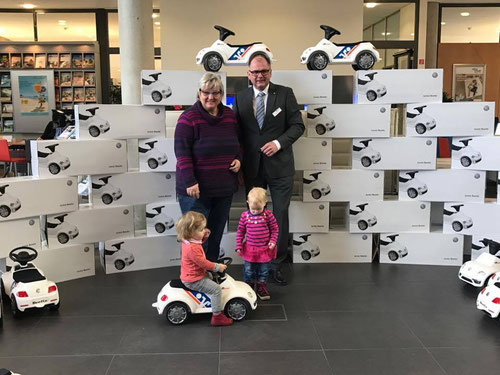 Bobby Car Spende Volksbank Ettlingen