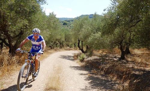 Gabriel Müller im Urlaub auf Kreta