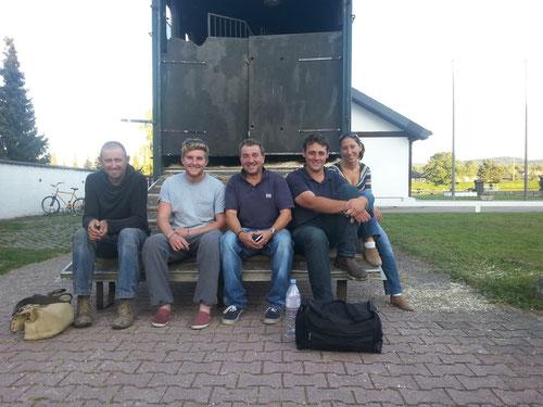 """the devils horse team"", Stunt-Team aus England"